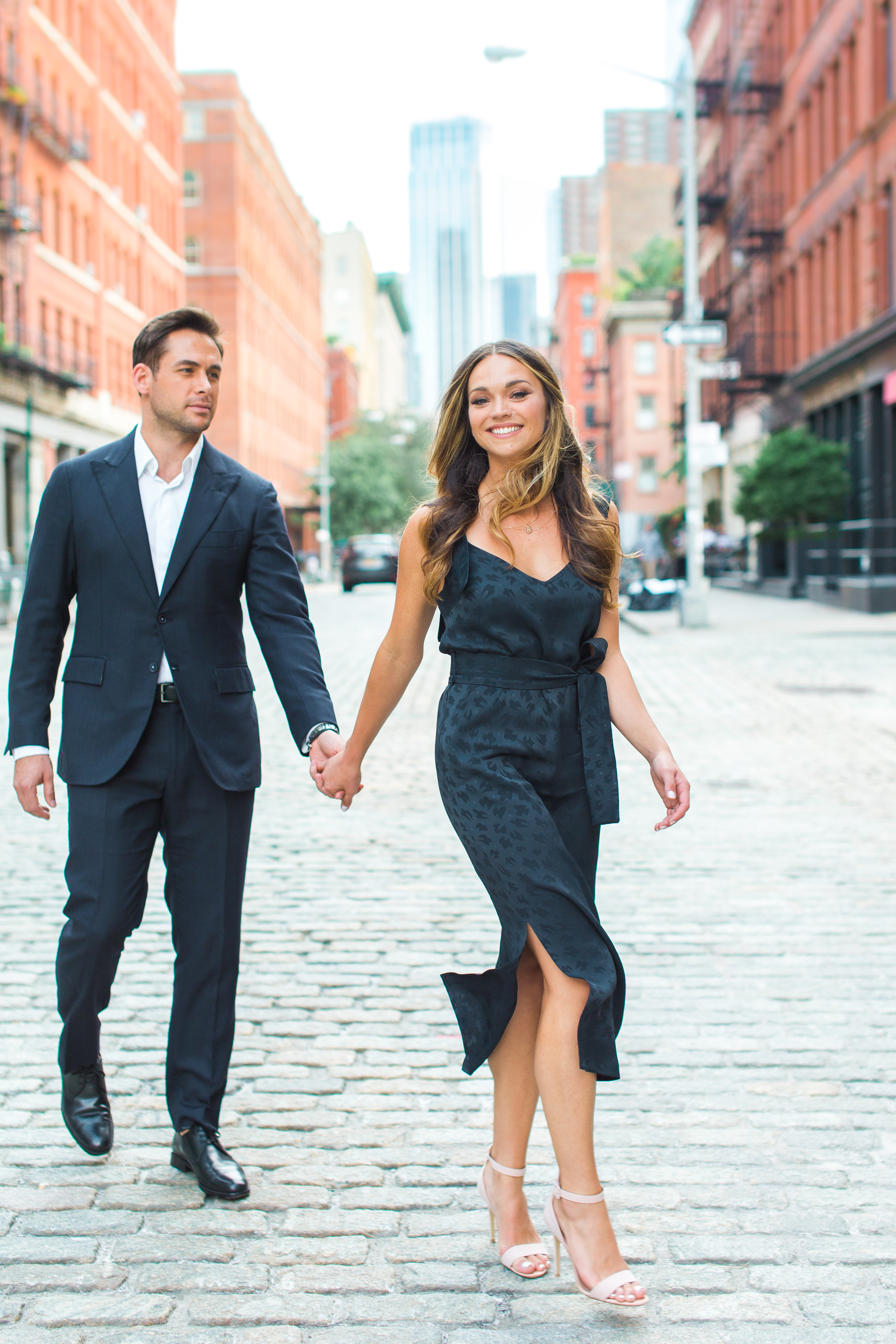 NYC engagement shoot