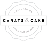 Featured on Carats and Cake - PRESS