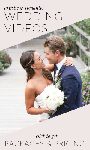 artistic wedding videographer